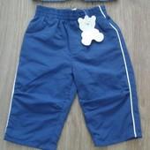 Новые спортивные штаны на 3-6 мес.