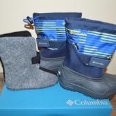 Columbia ботинки детские сноубутсы  всі розміри Америка