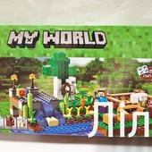 Конструктор Майнкрафт, арт. 10175, Minecraft, 262 дет.