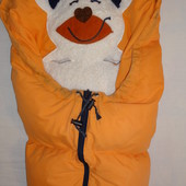 продам теплый конверт малышу Mucki отлично на осень-зиму.