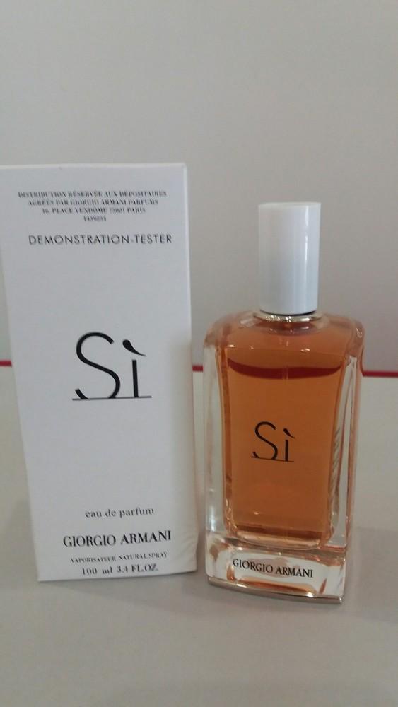 Женская парфюмерная вода giorgio armani si (джорджио армани си) тестер 28ac29fe8829b