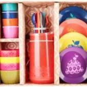 Распродажа - Набор посуды Красочный пикник от  Battat