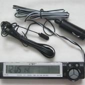 Автомобильные часы, термометр с датчиком 7043V