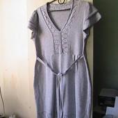 платье туника М 46-48р хлопок