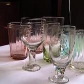 стекло хрусталь рюмки стаканы