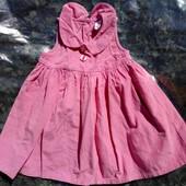 Платье-сарафан под водолазку(реглан) 12-18мес.