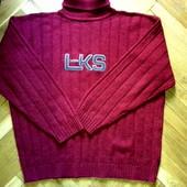 Мужской теплый свитер Lake-side шерсть