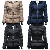 Женская зимняя стеганная куртка, три цвета.Новинка 2015