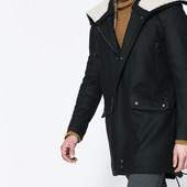 """Новое брендовое шерстяное пальто """"Zara"""" р.М (44-46р.)Испания."""