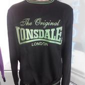Замечательная новая теплая толстовка Lonsdale Англия XXL размер