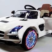 Детский электромобиль Mercedes-Benz sls (sx812) белый