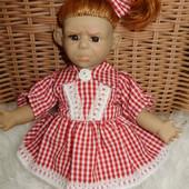 Кукла характерная, 25 см, обижулька, б\у