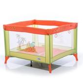 Манеж Mioo M100 Tiger оранжевый/зеленый