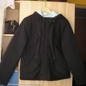 Осеннее мужское пальто 46 р-ра. Куртка демисезонная. Парка.