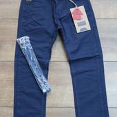 Котоновые брюки для мальчиков 110-140р.210