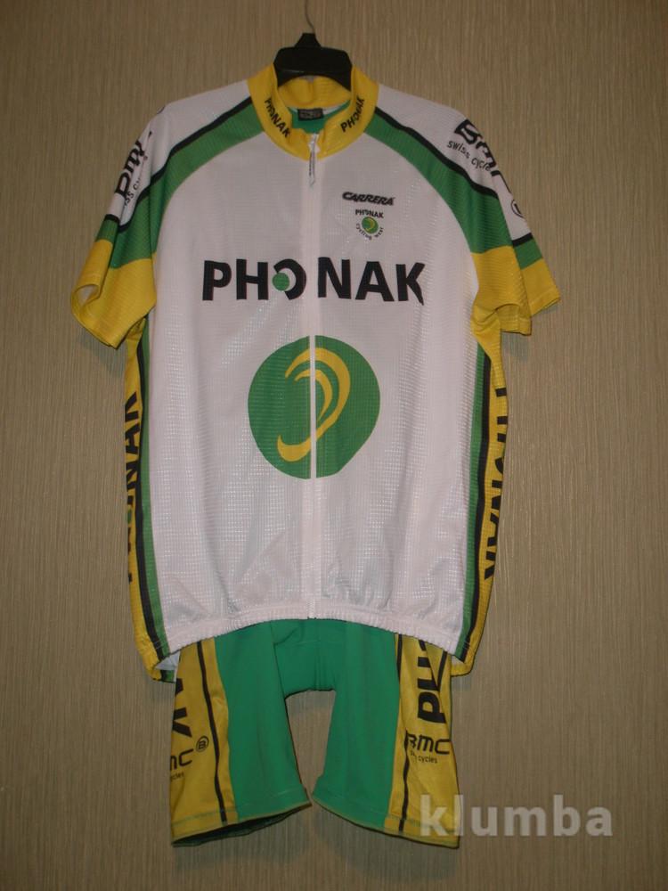 Акция!!! Велокостюм Phonak, разм. Xl, качественный фото №1