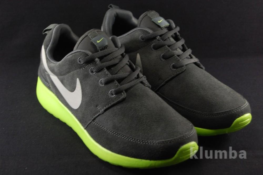 Мужские замшевые кроссовки Nike Roshe Run  фото №1