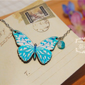 Цепочка с бабочкой