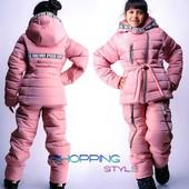 Зимний костюм для девочки 6-13 лет 3 цвета