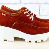 Туфли, ботинки натур. кожа, р. 36,41, код: nvk-1739