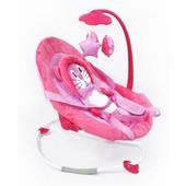 Шезлонг-качалка Baby Tilly Bt-bb-0002 Pink, розовый