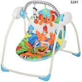 Качеля Бемби 324 Bambi музыкальная детская качель напольная