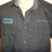 Брендовая фирменная стильная рубашка шведка сорочка .Jack&Jones.М.