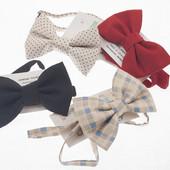 Бабочка-галстук для мальчика разных цветов