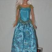 Кукла куколка по типу Барби с красивыми волосами идеальное состояние