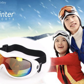 Маска горнолыжная/лыжные очки Spyder Energy: синяя (blue)