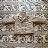 Стильная куртка пальто, для мальчика