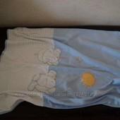 Детский плед Aziz Bebe двойной трикотажный идеально для новорожденного