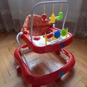 Ходунки детские музыкальные Bambi 0541 Red.