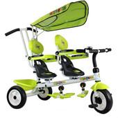 Велосипед для двойни 3-х колесный