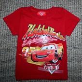 футболка Disney Cars примерно на 2год