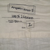 рубашка 100% лен Angelo Litrico  L 41/42