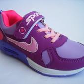 Скидка! Распродажа! Модные детские/подростковые кроссовки для девочки, р. 31-36, код 386