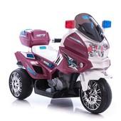 Электромотоцикл трехколесный Bambi M 0599 бордовый