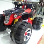 Электроквадроцикл Bambi JS 318 красный с черным