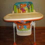Стул кресло для кормления Chicco Polly 2 в 1