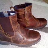 Кожаные качественные ботинки Timberland,29 размер