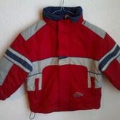 Демисезонная куртка мальчику. 5-7 лет. Замеры