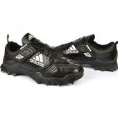 Кроссовки мужские кожаные Adidas «Reptile Black» на липучке