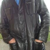 Фірмова стильна шкіряна кожаная  курточка  .Бренд Blue Coast.
