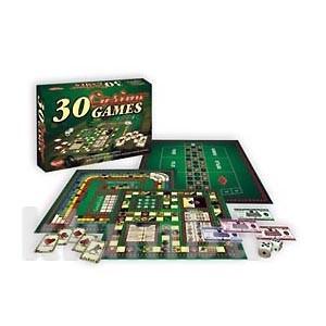 Распродажа - настольная игра 30 casino games (уценка) от gamer фото №1