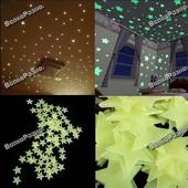 Светящиеся звезды на потолок и стены. Наклейки.