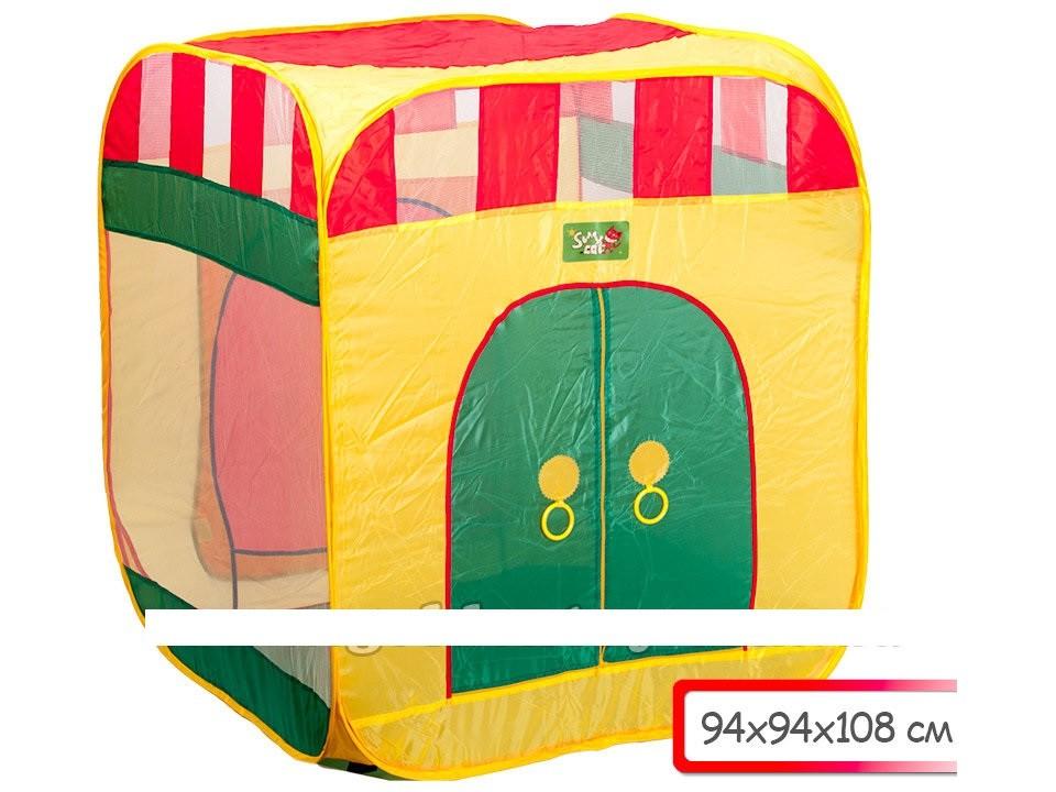 Палатка квадратный дом фото №1