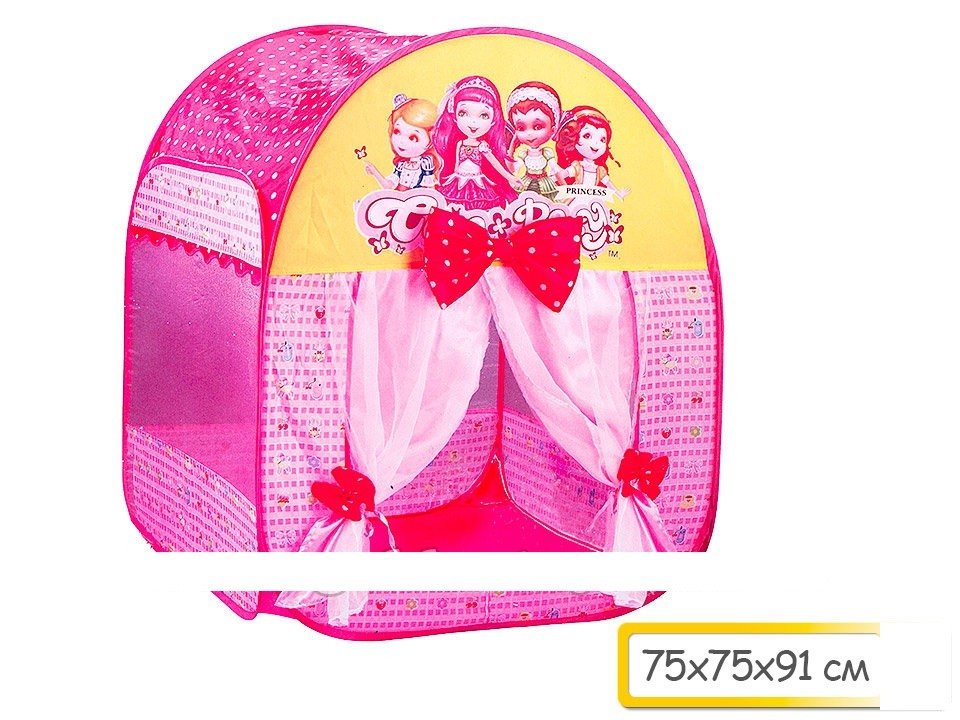 Палатка принцесса  75*75*91 фото №1