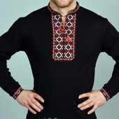 Футболка ― вишиванка мужская длинный рукав