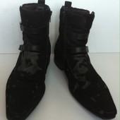 Классные зимние мужские туфли Luciano Carvari